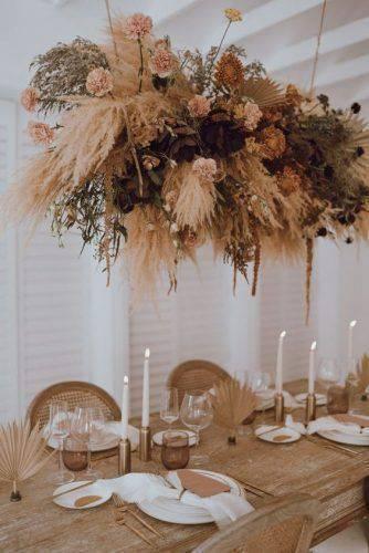 flores secas - decoração de casamento com flores secas