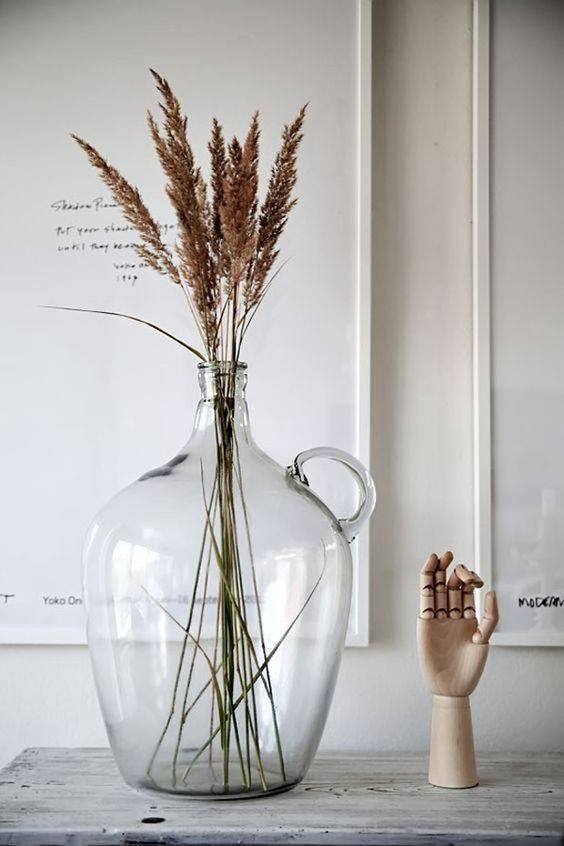 flores secas - flores secas na decoração