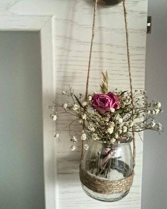 flores secas - pequeno enfeite de flores secas
