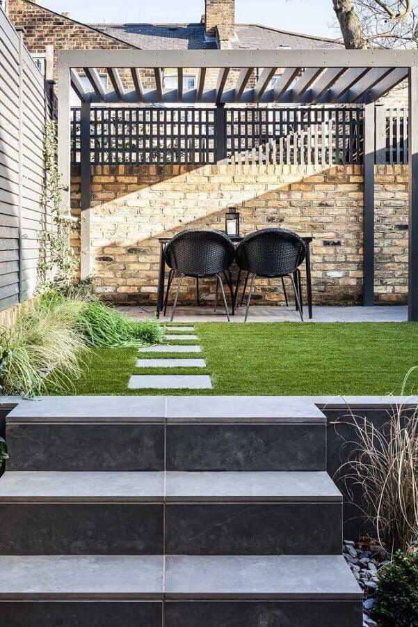 grama para jardim residencial Foto Assetproject
