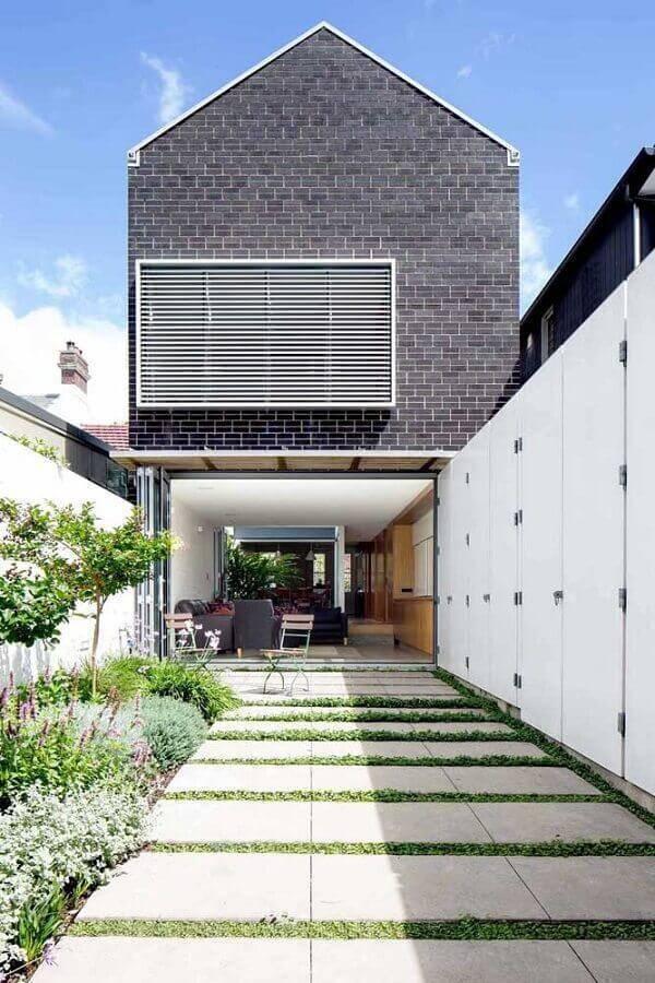 jardim residencial Foto Kreis Grennan Architecture