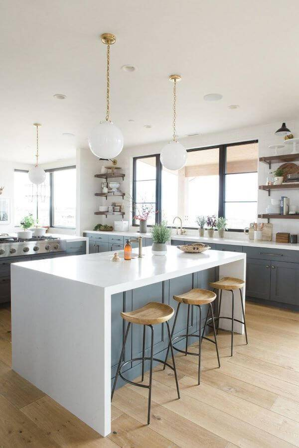 Lustre para balcão de cozinha e em outros lugares da cozinha