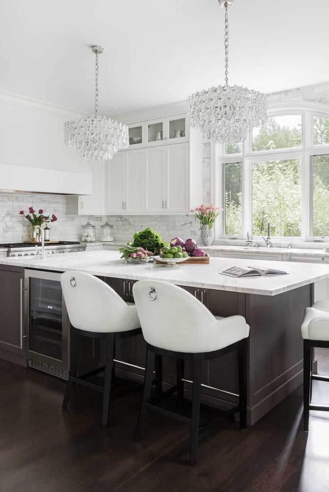 Lustre para cozinha clássico