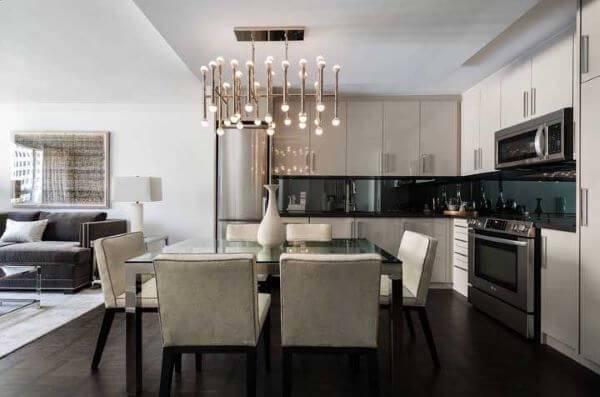 Lustre para cozinha moderna