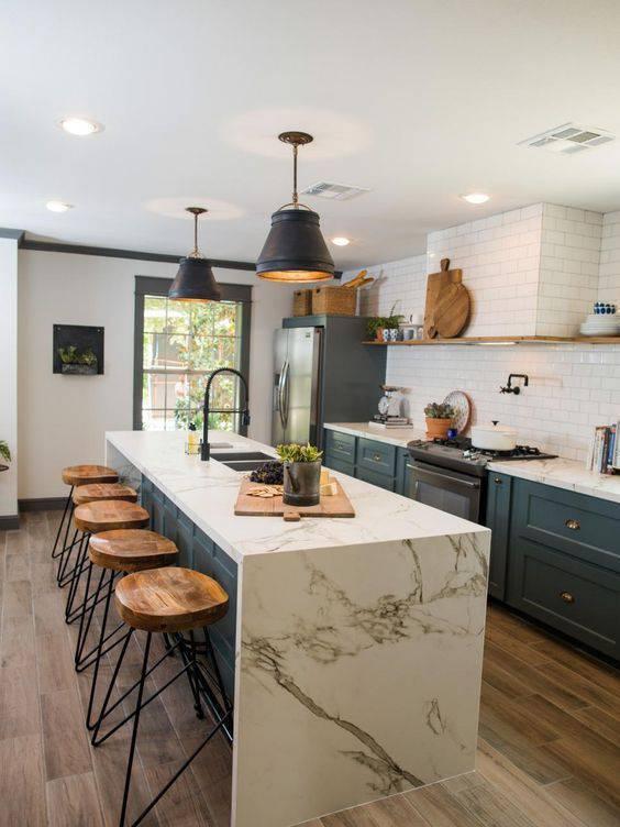 Lustre moderno para cozinha atemporal