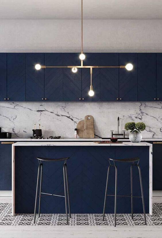 Lustre para balcão de cozinha