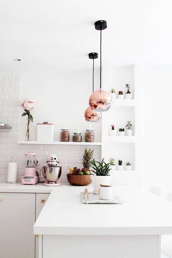 Lustre para cozinha clean