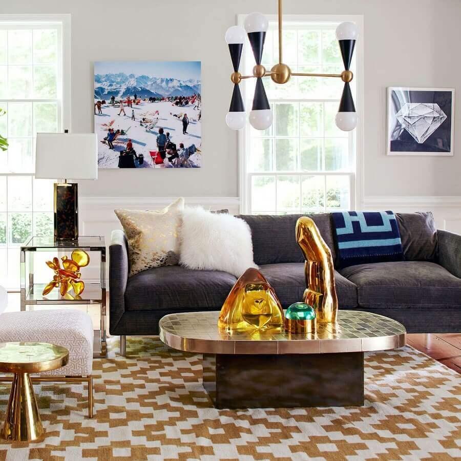 lustres modernos para sala de estar Foto Apartment Therapy