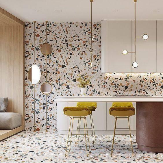 marmorite - cozinha americana de marmorite