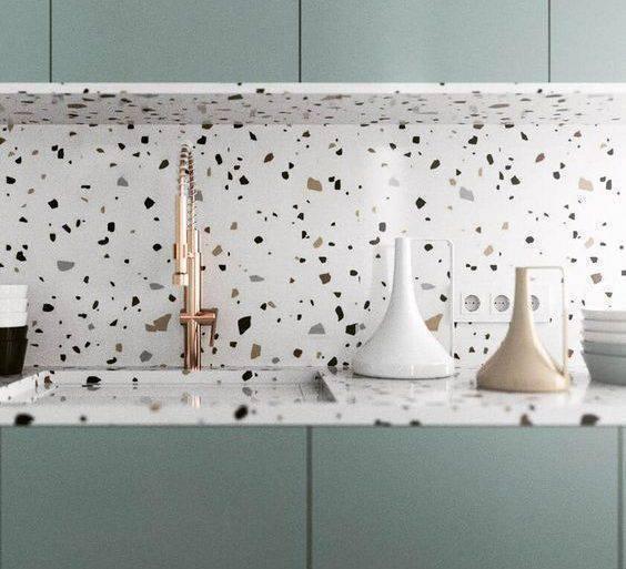 marmorite - cozinha com marmorite - Manual da Obra