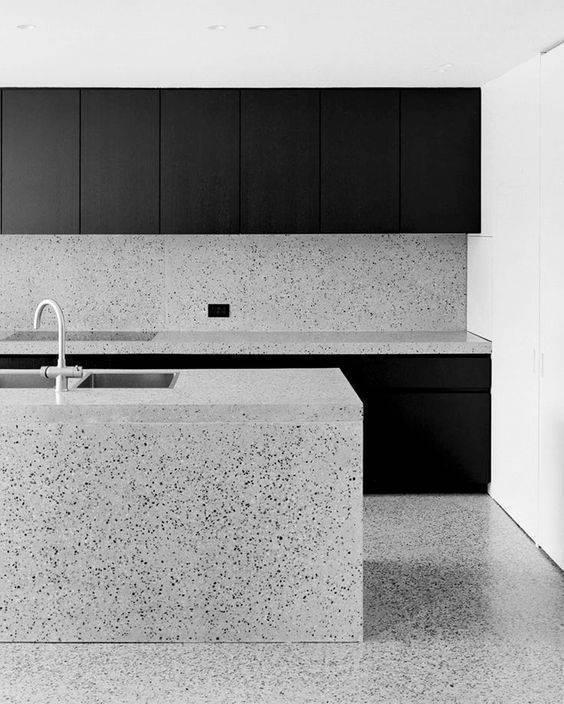 marmorite - cozinha moderna de marmorite