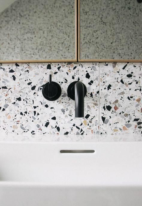 marmorite - detalhe de pia com granilite