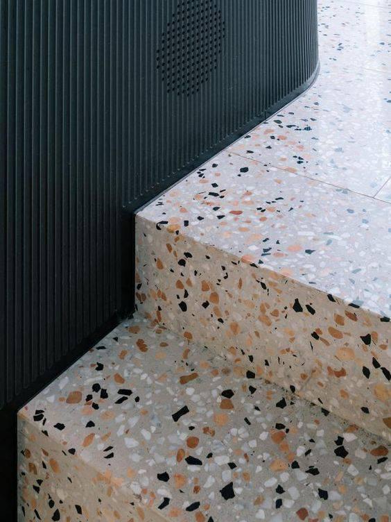 marmorite - escada de marmorite colorida
