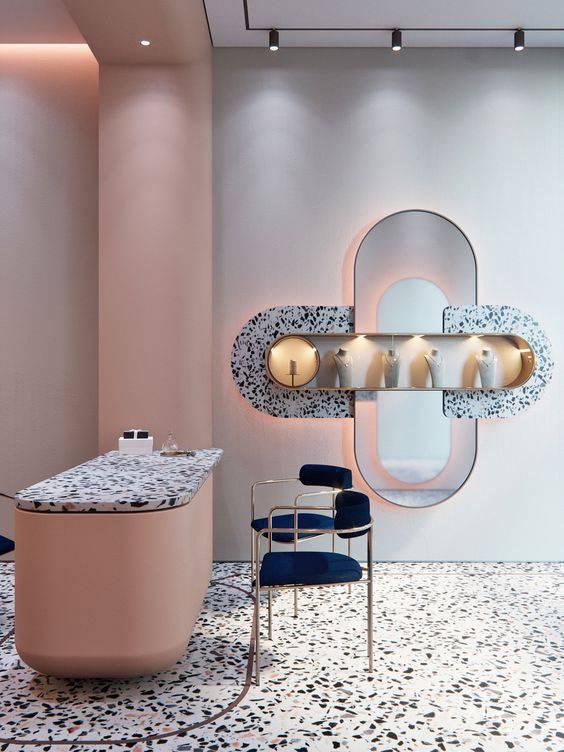 marmorite - loja com elementos de marmorite