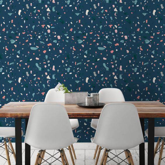 marmorite - parede escura de marmorite