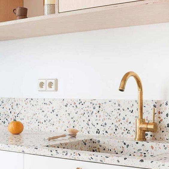 marmorite - pia de marmorite colorido
