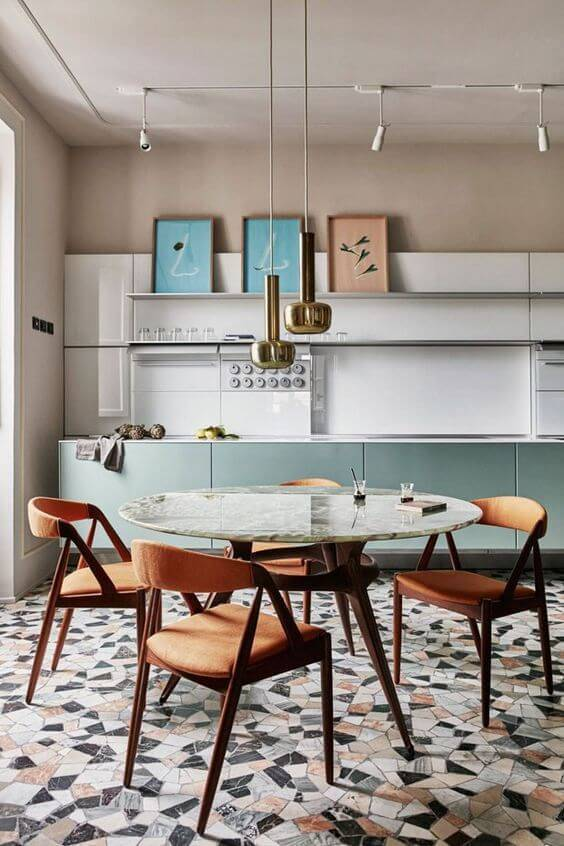 marmorite - piso de marmorite colorido