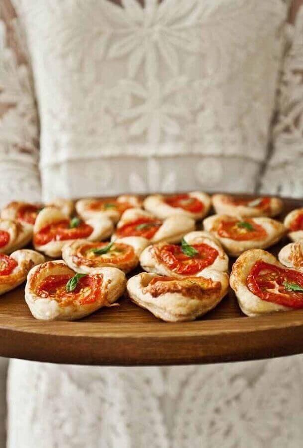 mini pizzas para festa surpresa Foto Why Santa Claus