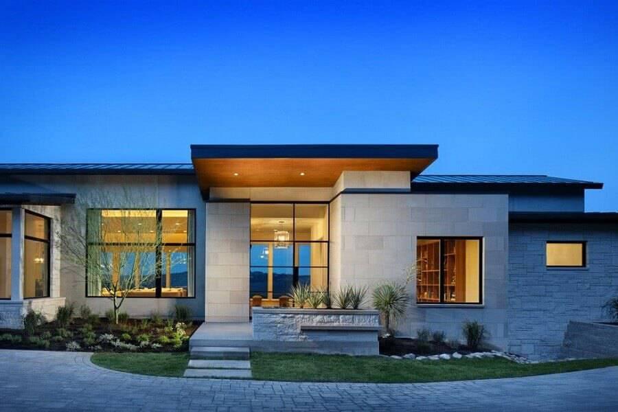 modelos de casas lindas térrea Foto SVM Houses