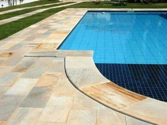 pedra para piscina - pedra clara para porta de piscina
