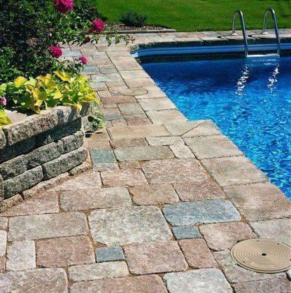 pedra para piscina - piscina com pedra simples