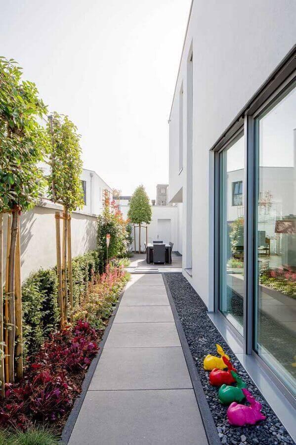 plantas para jardim residencial com pedras Foto Houzz