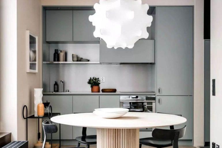 Modelo de lustre para cozinha
