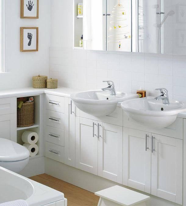 torneira para pia de banheiro - ideias para decorar ambientes pequenos de forma