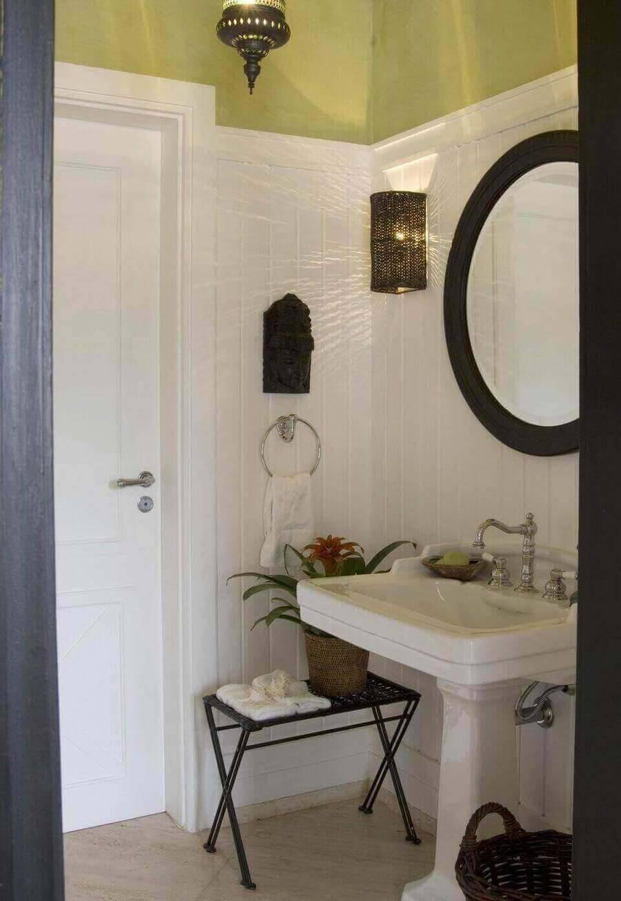 torneira para pia de banheiro - lavabo com pia clássica