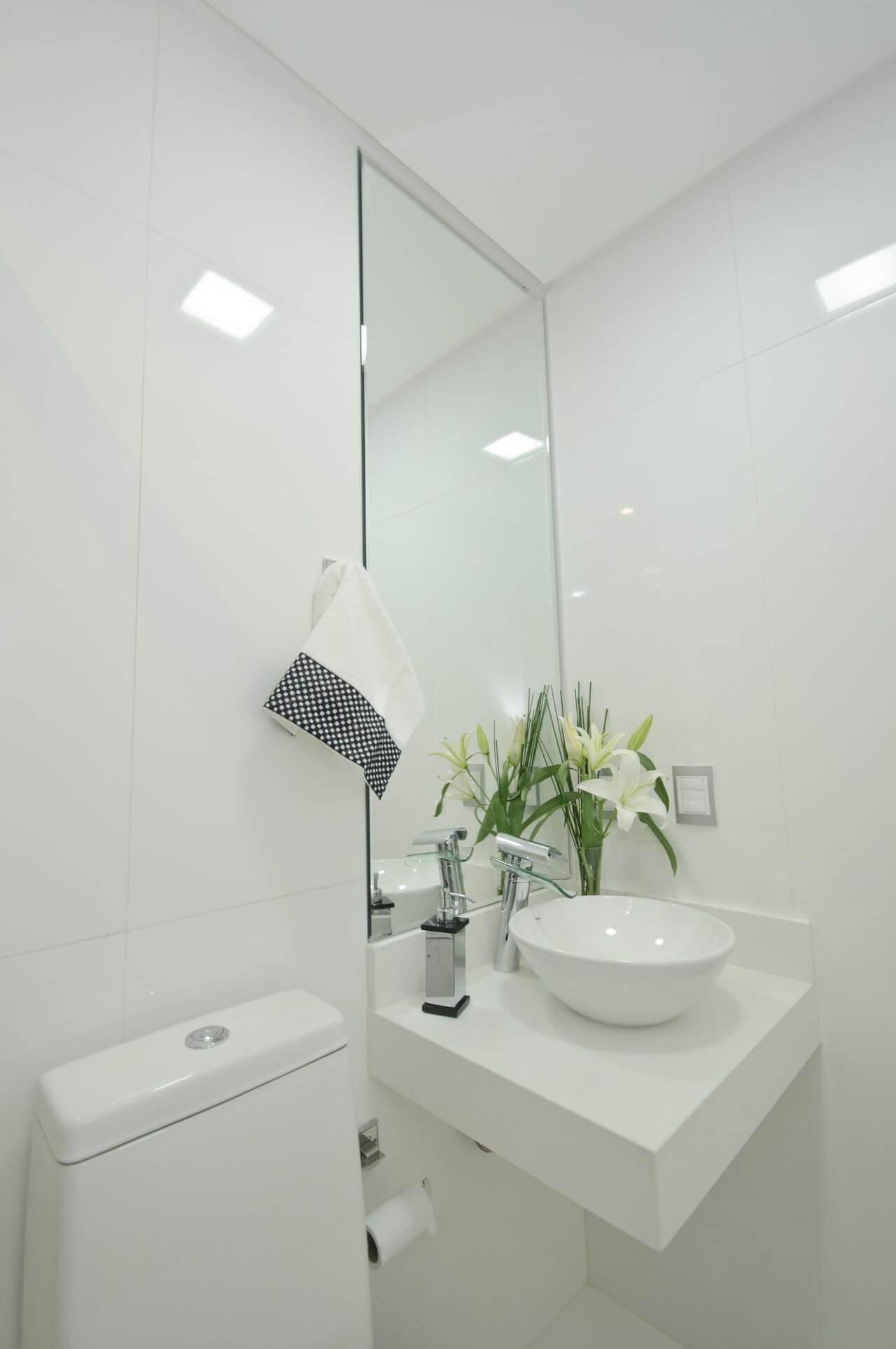 torneira para pia de banheiro - lavabo com pia pequena