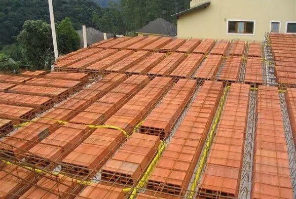 Espessura de laje pré-moldada