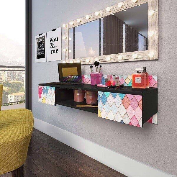 Penteadeiras modernas para quarto