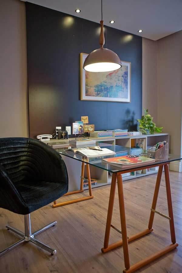Os escritórios também gostam de utilizar o piso laminado como revestimento