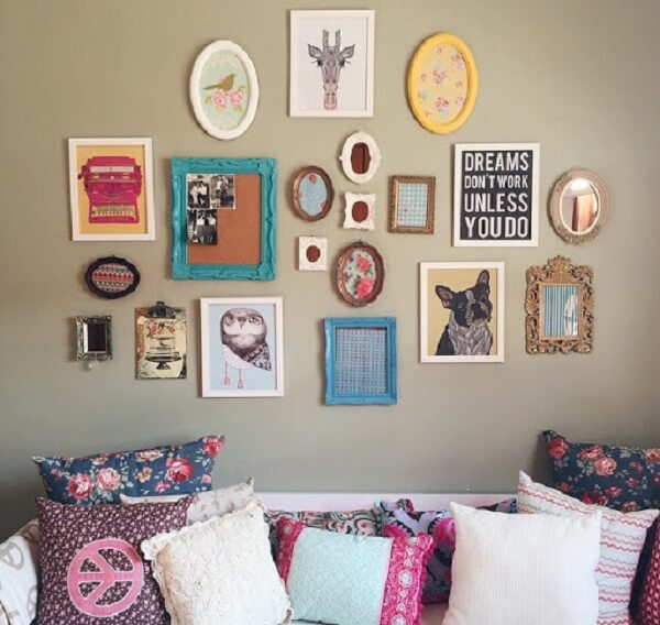 Quartos tumblr enfeite de parede