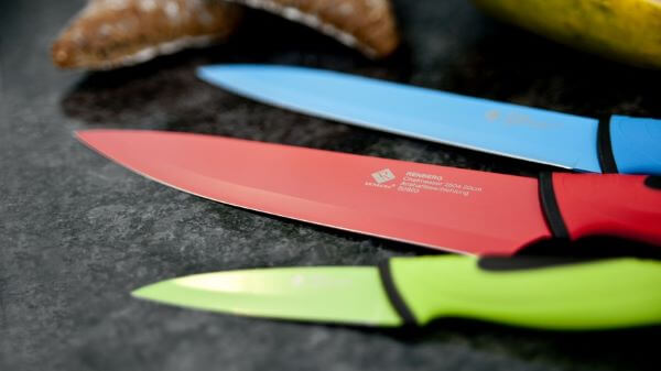 Como afiar faca de cerâmica