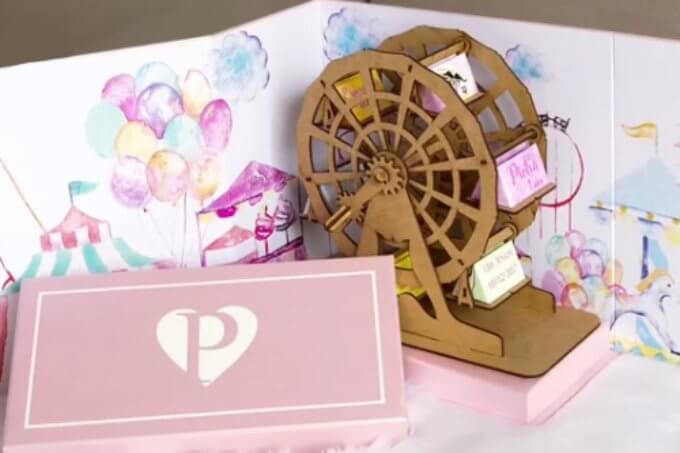 Convite de aniversário infantil parque de diversões