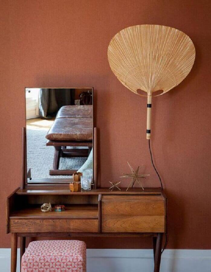 cor de tinta terracota Foto Archzine
