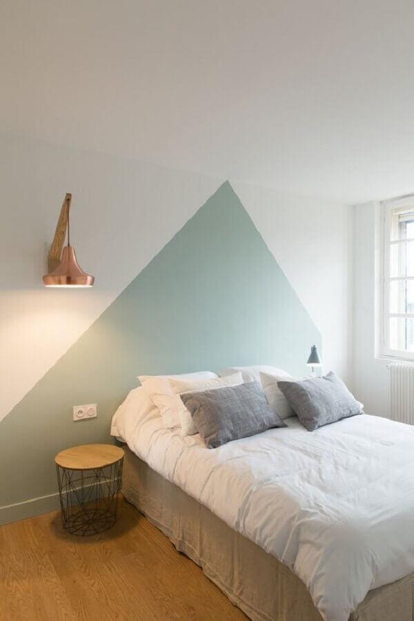 decoração minimalista de quarto juvenil Foto Pinterest