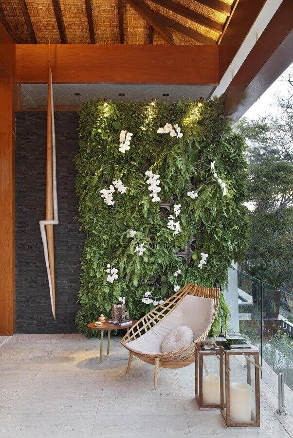 decoração moderna com cadeira para varanda Foto Ana Meirelles