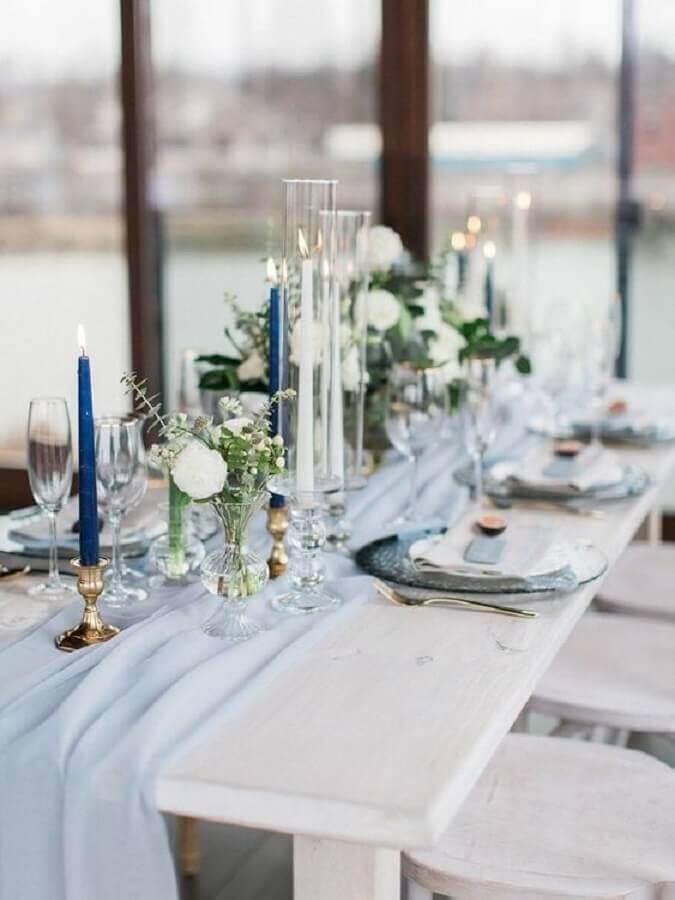 decoração moderna para aniversário de casamento Foto Every Golden Detail