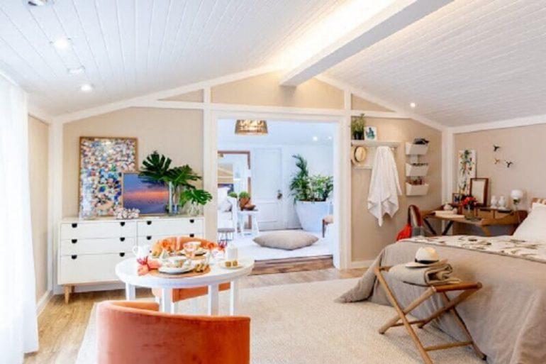 decoração para quarto de praia