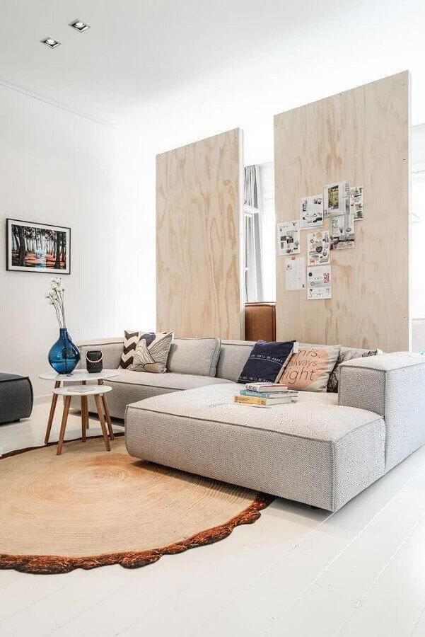 decoração para sala com sofá moderno Foto Archilovers
