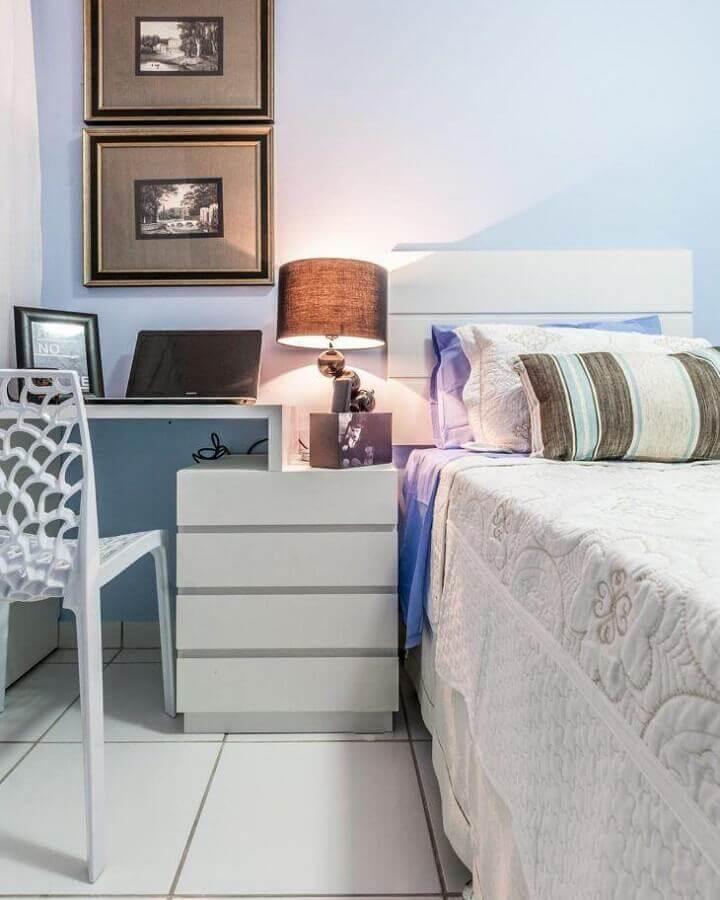 decoração simples de quarto juvenil Foto Renove Projetos