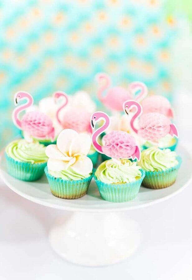 candies for flamingo party decoration Photo Kara's Party Ideas