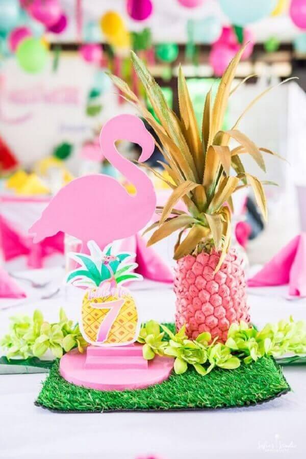 Flamingo and Pineapple Party Ideas Photo Kara's Party Ideas