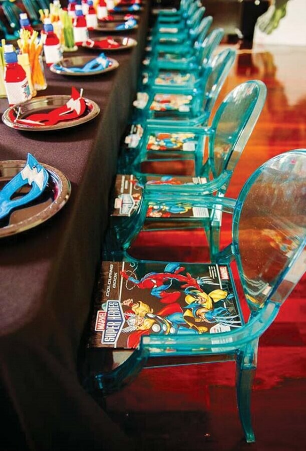 ideias para festa dos vingadores Foto Home Decor Ideas