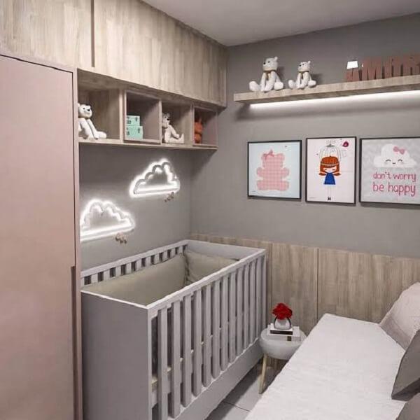 Modelos de quadros para quarto de bebê