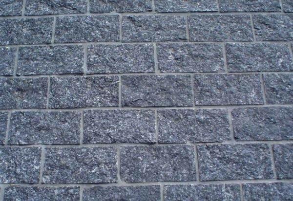Modelo de pedra miracema cinza