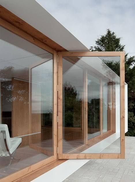 Tipos de janela de vidro para sala