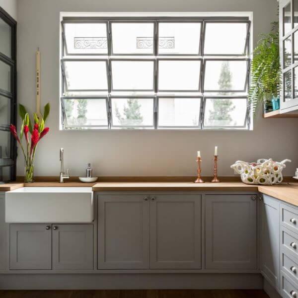 Cozinha com janela max